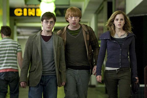Harry, Ron i Hermione otkrivaju da troglavi pas Bundi, kako ga je.