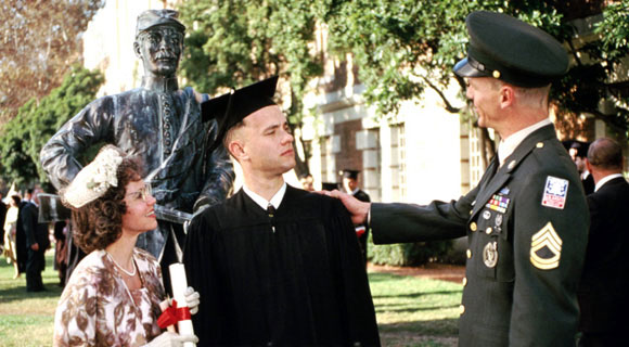 a review of forest gump a drama movie by robert zemeckis Forrest gump is a 1994 american romantic comedy-drama film based on the 1986 novel of the same name by winston groomit was directed by robert zemeckis and written by eric roth, and stars tom hanks, robin wright, gary sinise, mykelti williamson, and sally field.