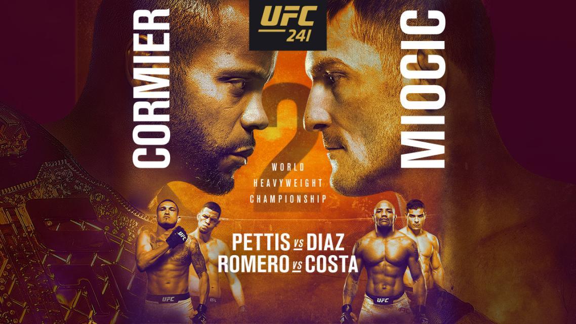 UFC 241 - Veliki dvoboj Miočića i Cormiera ovoga vikenda
