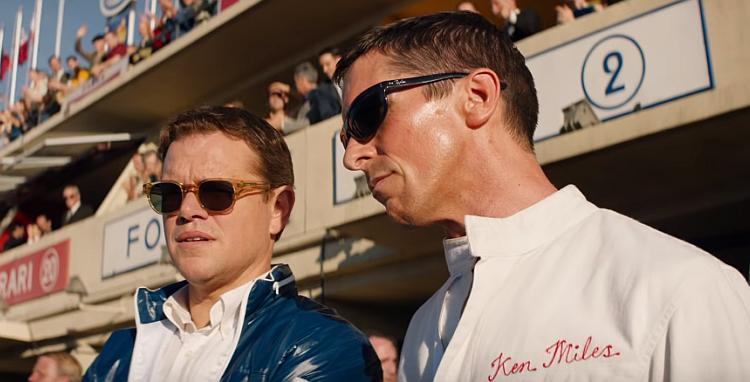 """Matt Damon i Christian Bale u novom traileru za """"Ford v Ferrari"""""""