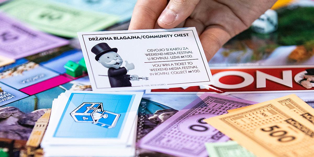 Weekend Media Festival dio legendarnog Monopolyja