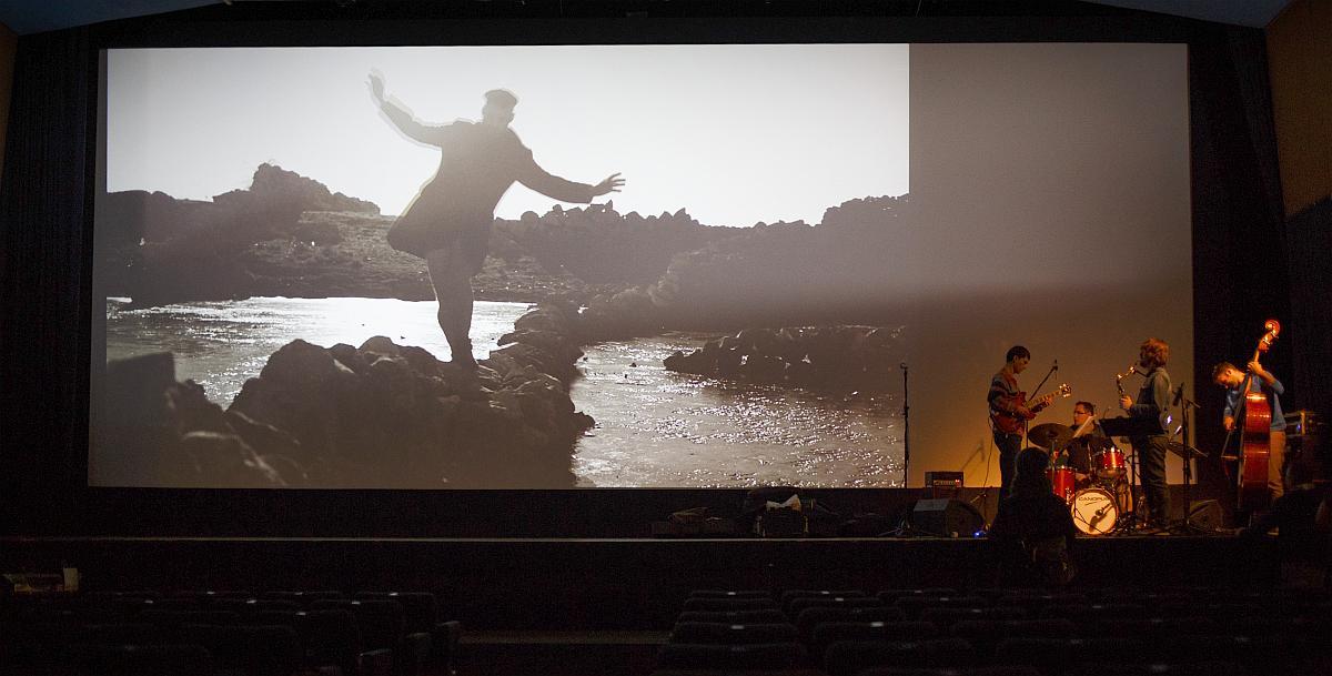 Jazz koncert uz projekciju art filma