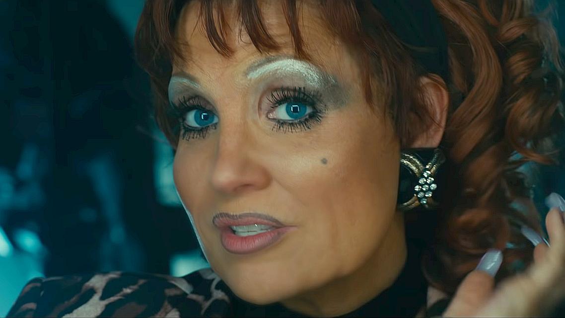 """Neprepoznatljiva Jessica Chastain u filmu """"The Eyes of Tammy Faye"""""""