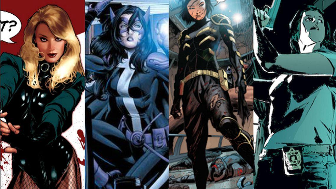 DC tim ženskih junakinja/antijunakinja