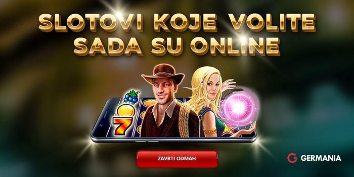 Book of Ra, Sizzling Hot, Lucky Lady's Charm casino igre zaigraj u Germania online casinu!